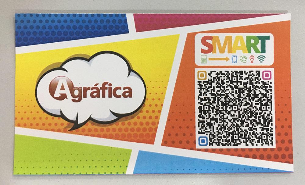 teste cartão de visita smart